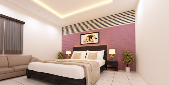 Silver-Bed-room